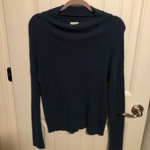 navy blue crew neck sweater from nordstrom bp